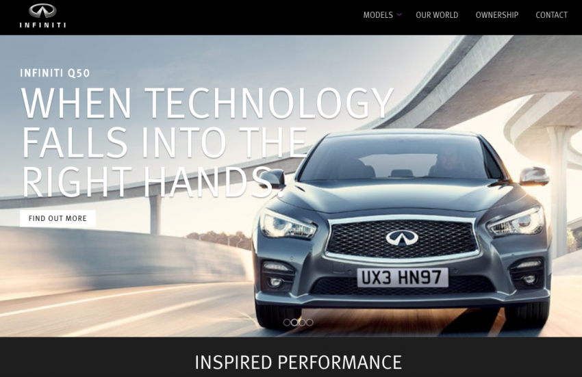 Infiniti Europe Fastest Growing Car Brand On Youtube Global Fleet