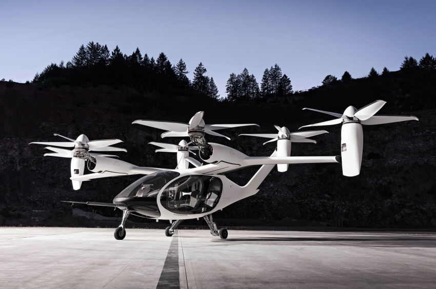 Toyota invests in Joby Aviation eVTOL flying taxi development