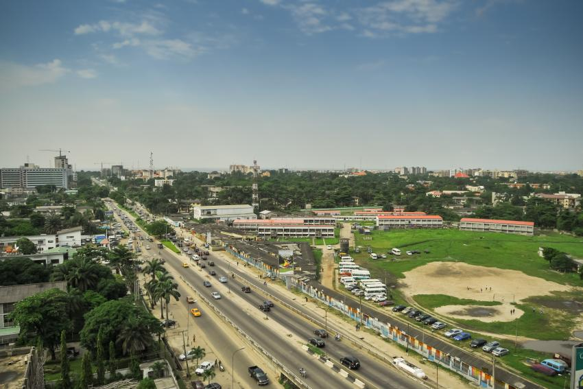 Image of Lagos, Nigeria courtesy of Shutterstock