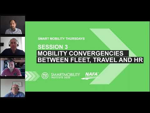 Embedded thumbnail for Smart Mobility Thursday Webinar: Convergencies between Fleet, Travel and HR